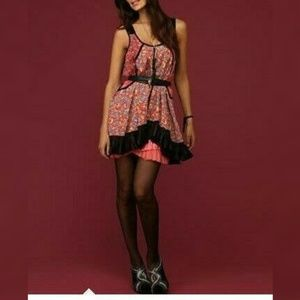 3633 Free People Sleeveless Sequin Tunic Dress L